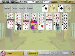 Great Escapes Solitaire Screenshot 1